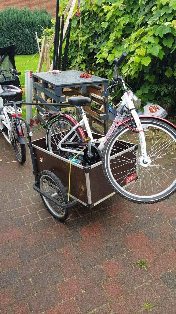 Roland Jumbo fahrrad abschlepper