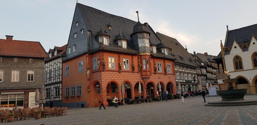 Goslar Marktplatz kaiserworth #ferienwohungentester