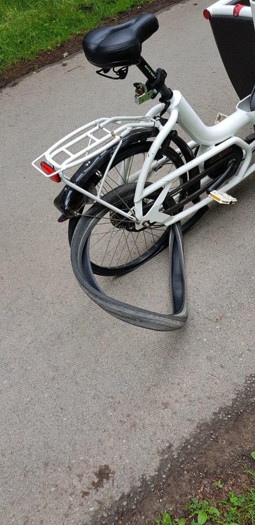 Urban arrow schwalbe big apple plattfuss platt panne defekt kaputt
