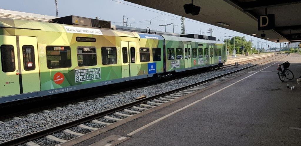 Tag der Bundeswehr 2018 in Wunstorf S-Bahn Hannover camouflage
